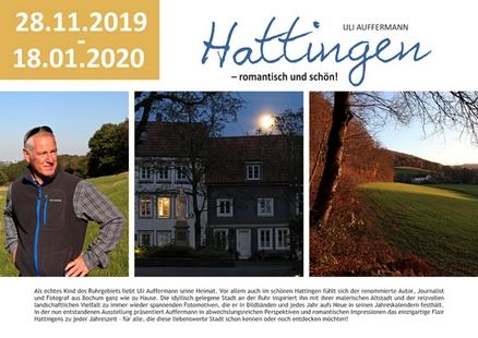 Fotoausstellung von Uli Auffermann in der Stadtbibliothek Hattingen