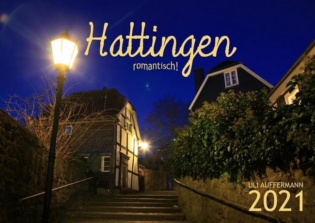 """Jahreskalender 2021 """"Hattingen – romantisch!"""""""