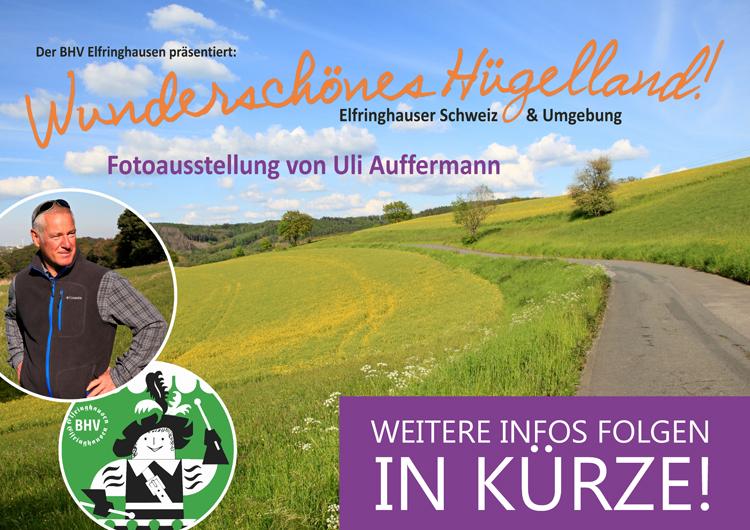 """Neue Fotoausstellung: """"Wunderschönes Hügelland!"""""""